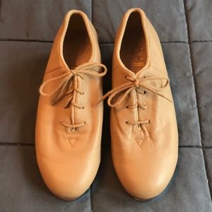 SoBloch split sole oxford Tap dance shoes